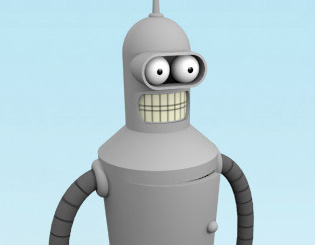 Bender from Futurama - 31 mins (Free)
