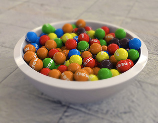 Bowl Of Sweets - 36 mins ($5+)