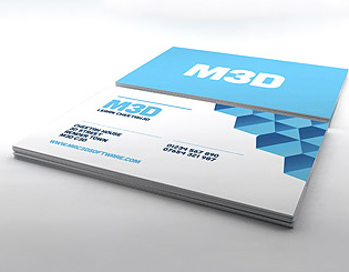 Business Card Render Setup