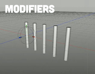 Cheetah3D Modifiers