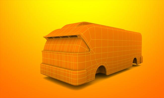 Model an RV in Cheetah3D