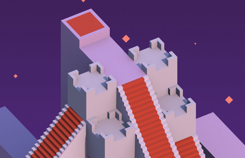 Monument Valley Cheetah3D
