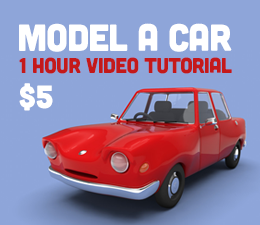 Cheetah3D Car Tutorial
